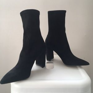INC booties pointed toe